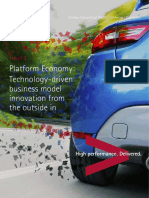 Accenture Platform Economy Technology Vision 2016 France
