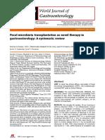 Fecal Microbiota Transplant