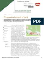 Cómo y dónde dormir al bebé - materna Argentina.pdf