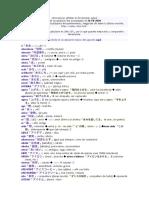 Diccionario Japones - Español