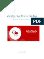 Configuring Timecards App v2