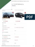 Toyota Innova Crysta 2 and Tata aris specification.pdf