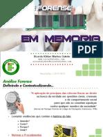2013 11 23 - SecurityDay - Forense Em Memoria