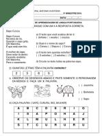 III Bimestre Lingua Portuguesa