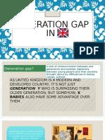 Generation Gap in UK.