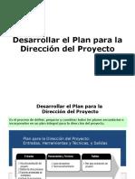 Plan para direccion de proyecto