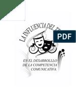 Influencia del Teatro en El Desarrollo de Competencias Comunicativas