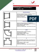A - Reducao Excentrica e Concentrica - Curva - Te