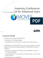 MOVES Users guide Module 1