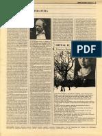 Réplica de Evolio Escalante a Alatorre sobre Lingüística y literatura