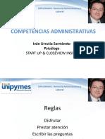 1 Competencias Administrativas