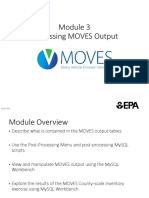 MOVES Users Guide Module 3