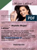 Texto Promocional - Mundo Mujer Latina