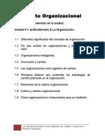 Diseño Organizacional Unidad 1 Marco Teorico