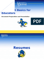 Ed Resume Documents Only
