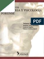Diccionario de Psiquiatria y Psicologia Forense