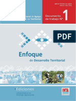 enfoque de desarrollo territoriañ