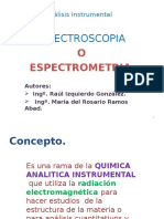 Estectroscopia Rig