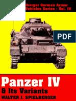 Schiffer - Spielberger 004 - PzKw IV and Its Variants StuG IV Wirbelwind Ostwind Kugelblitz