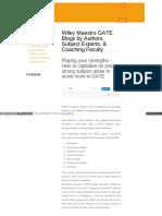 Gate Wileymaestro Com