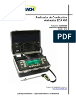 Bacharach Manual ECA 450