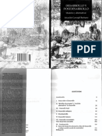 Desarrollo y Postdesarrollo Modelos y Alternativas