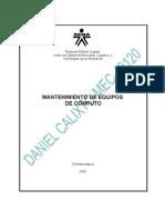 Evdiencia 064-Arquitectura de La Unidad de CD