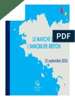 Le marché de l'immobilier breton