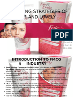 Fair And Lovely Presentation Brand Profit Accounting