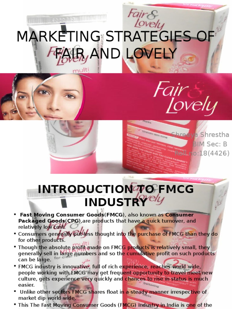 fair and lovely marketing strategy