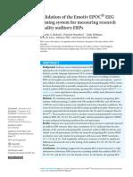 Validation of the Emotiv EPOC.pdf
