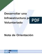 United Nations Como Desenvolver Infraestrutura Para Projetos Voluntariados