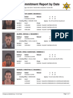 Peoria County Jail Booking Sheet for Sept. 22, 2016