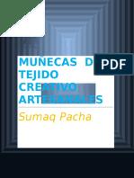 Muñecas de Tejido Creativo Artesanales