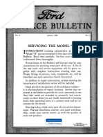 Client - Model a Garage - Service Letter - January 1928