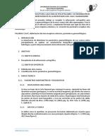 Parametros Geomorfologicos Cuenca