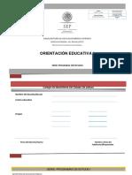 Programa Orientación Educativa I