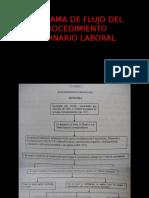 Diagrama de Flujo Procedimiento Ordinario Laboral