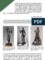El caso Balzac (de A. Rodin)