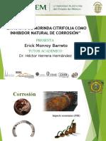 Extracto de Morinda Citrifolia Como Inhibidor Natural de La Corrosión