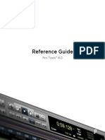Pro Tools Reference Guide