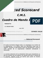 Clase Nro 10 BSC CMI Cuadro de Mando Integral
