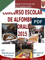 CONCURSO ALFOMBRAS