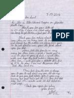 Rogers Letter