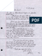 Rogers Letter