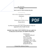 City of Los Angeles v. Patel