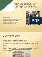 Gobierno de Sebastián Lerdo de Tejada Corral