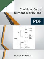 Clasificación de Bombas Hidráulicas