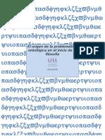 El Origen de La Problemática Ontológica en El Inicio de La Filosofía (CELIA MARÍA MEDINA PLASENCIA)