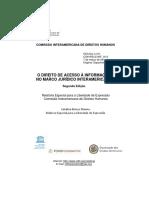 Unesco - El Derecho de Acceso a La Informacion
